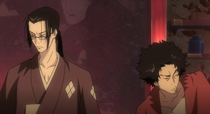 Mugen and Jin-Samurai Champloo