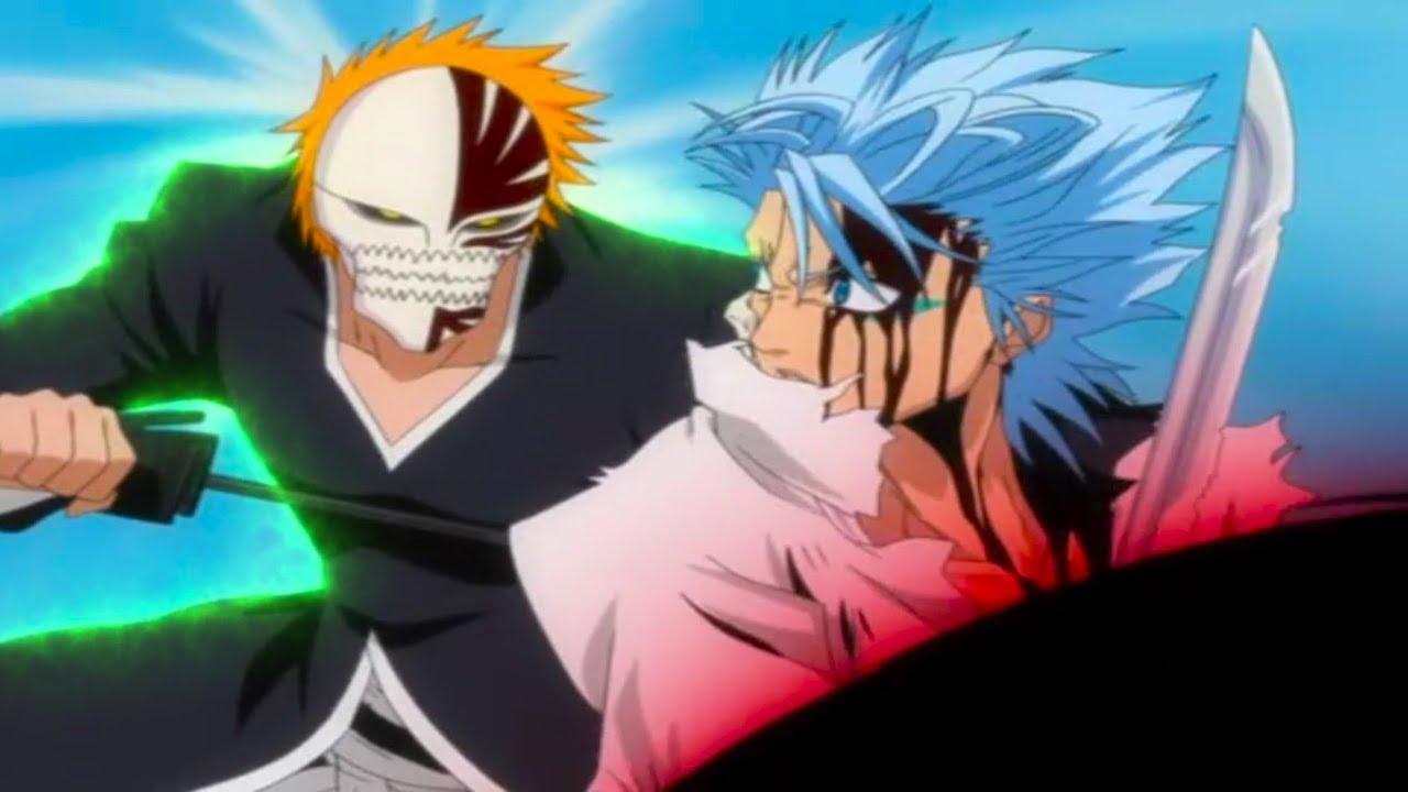 Ichigo and Grimmjow-Bleach