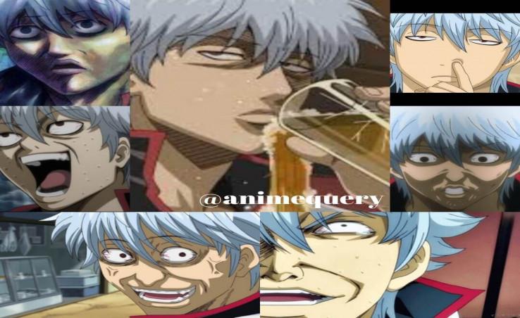 gintama reaction faces