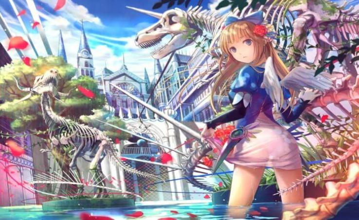 free anime mmorpg wallpaper